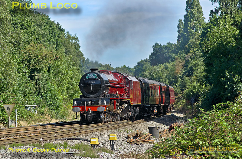 "6201 ""Princess Elizabeth"", Southcote Junction, 1Z46, 23rd August 2016"
