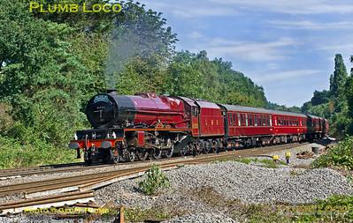 "6201 ""Princess Elizabeth"", Southcote Junction, 1Z46, 23rd August 2016"