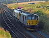 73966 and 66705 run light engine from Craigentinny to Aberdeen on Wednesday 17th Augusr