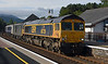 66739 at Aviemore on Saturday 6th August with 73 providing train heating for sleeper.