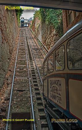 Bridgnorth Cliff Railway, Lower Station, 3rd August 2018