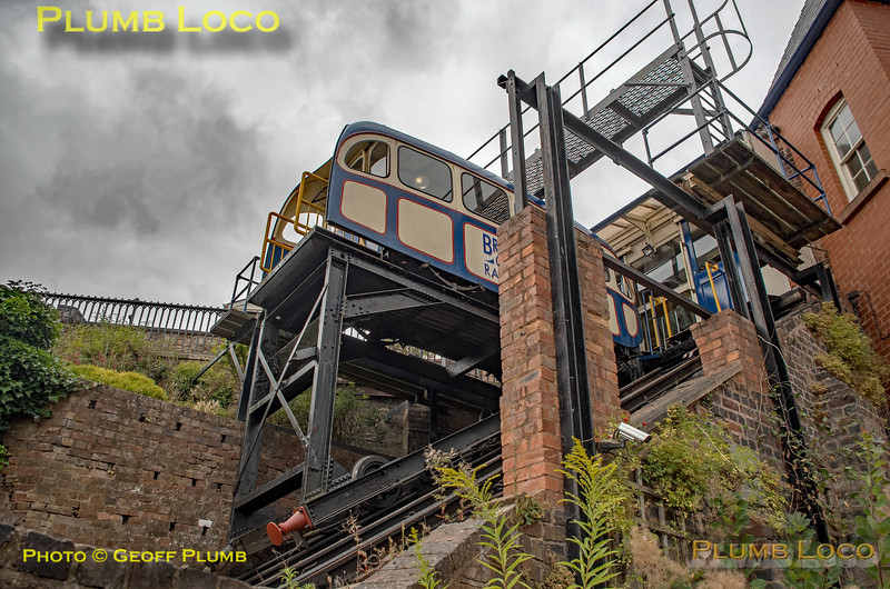 Bridgnorth Cliff Railway, Upper Station, 3rd August 2018