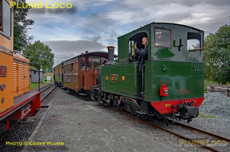 W&LLR No. 17 & 823, Cyfronydd, 30th August 2019