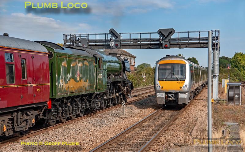"60103 ""Flying Scotsman"", Princes Risborough, 1Z02 & 168109, 25th August 2019"
