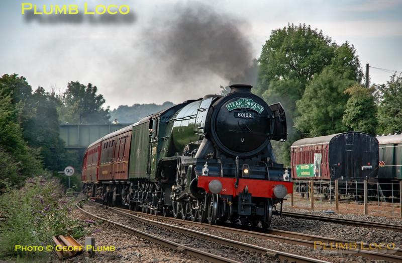 "60103 ""Flying Scotsman"", Princes Risborough, 1Z02, 25th August 2019"