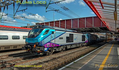 """68026 """"Enterprise"""", Crewe Station Down Fast, 5Z68 (?), 9th August 2019"""