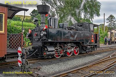 """No. 2 """"Zillertal"""", Llanfair Caereinion, 30th August 2019"""