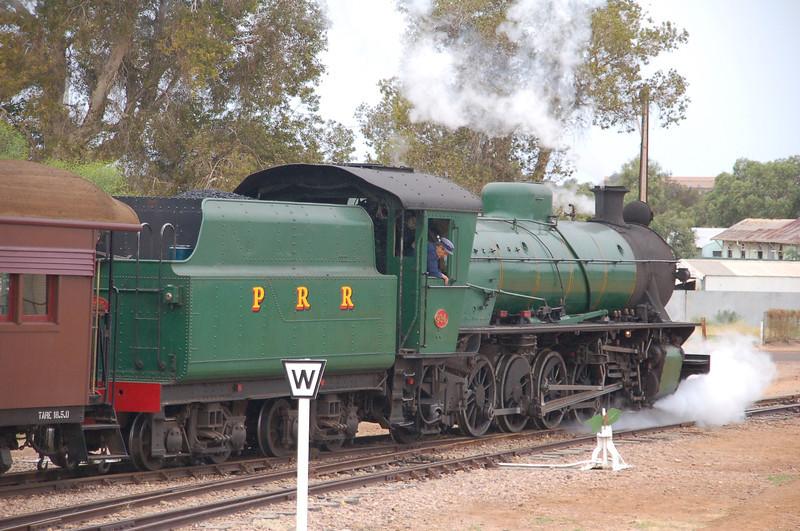 BP 7411 W934 - Pichi Richi Rly, Port Augusta, SA - 21 April 2012