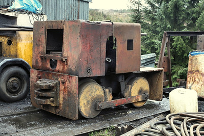 5222 Hunslet 0-4-0DM - Ayle Colliery Co  09.05.15  Justin