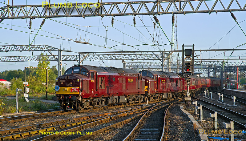 "37669 & 37668 BLS ""565 Special"", Crewe, 1Z56, 2nd September 2017"