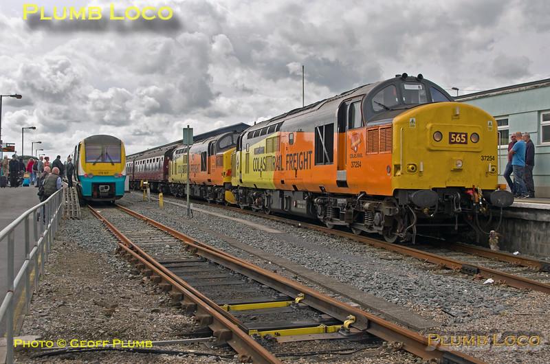 "37s, BLS ""565 Special"", Carmarthen, 2nd September 2017"