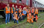 "BLS, ""565 Special - Take 2"", Stewards Team Photo, Norwich Thorpe Yard, 12th May 2018"