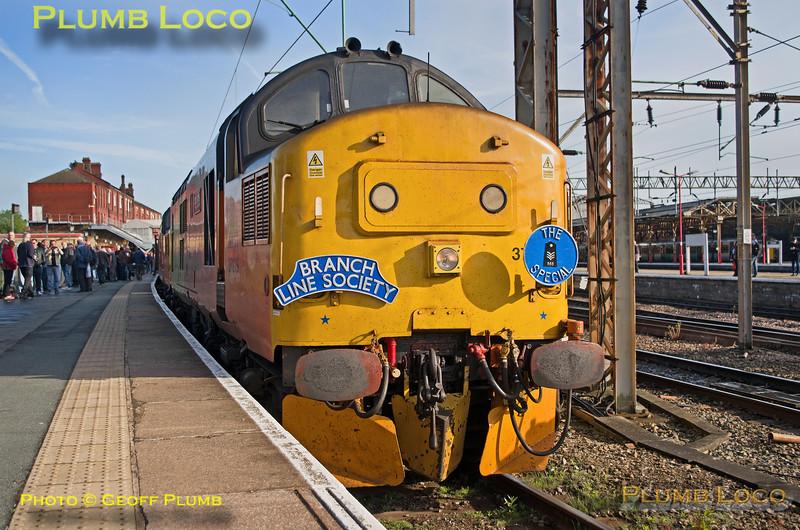 "37219, BLS ""565 Special - Take 2"", Crewe Platform 12, 1Z56, 12th May 2018"