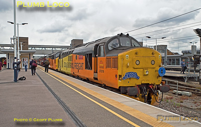 "37219 & 37116, BLS ""565 Special - Take 2"", Peterborough, 12th May 2018"