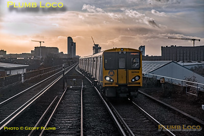 "BLS ""Bootle Brush"", PoV 47826, 507 012, Sandhills, 8th December 2019"