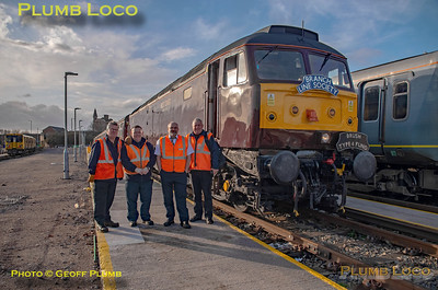 """BLS """"Bootle Brush"""", 47245, Crew Group, Kirkdale Depot, 8th December 2019"""