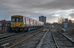 "BLS ""Bootle Brush"", 508 141, Marsh Lane Junction, 8th December 2019"
