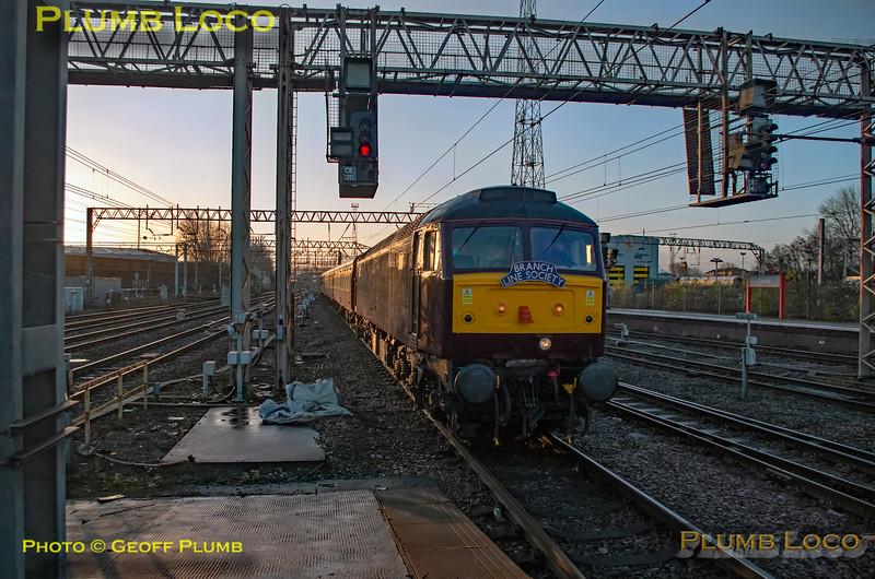 "BLS ""Bootle Brush"", 47245, Crewe Platform 7, 8th December 2019"