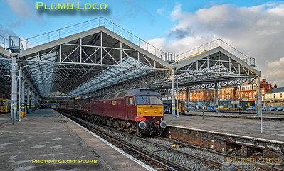 "BLS ""Bootle Brush"", 47826, Southport Platform 3, 8th December 2019"
