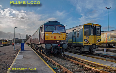 "BLS ""Bootle Brush"", 47245, Kirkdale Depot 22 Road, 8th December 2019"