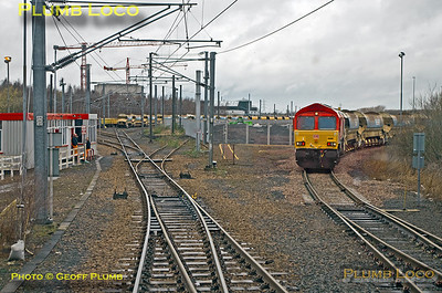 """PoV 43300, BLS  """"Bound for Craigy"""" tour, Millerhill West Junction, 18th March 2017"""
