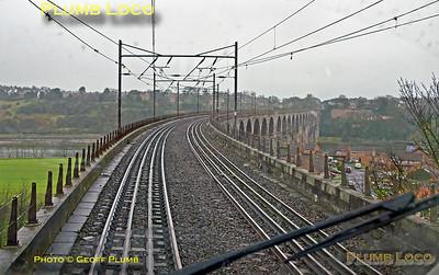 "PoV 43300, BLS ""Bound for Craigy"" tour, Royal Border Bridge, 18th March 2017"