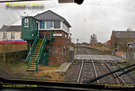 "PoV 43300, BLS ""Bound for Craigy"" tour, Bedlington South Signal Box, 18th March 2017"