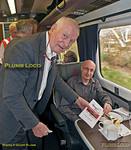 """Sir Kenneth Grange, Signing, """"Bound for Craigy"""" tour, 18th March 2017"""