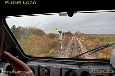 """PoV 43300, """"Bound for Craigy"""", Signal N14, Newsham, 18th March 2017"""