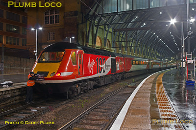 """43300, BLS """"Bound for Craigy"""", King's Cross Platform 1, 1Z40, 18th March 0317"""