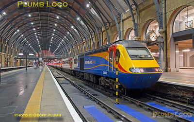 """43082, BLS """"Bound for Craigy"""", King's Cross Platform 1, 1Z40, 18th March 2017"""