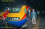 Sir Kenneth Grange & David Maidment with 43082, King's Cross, 18th March 2017
