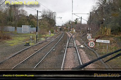 """PoV 43300, """"Bound for Craigy"""", Benton North Junction, 18th March 2017"""