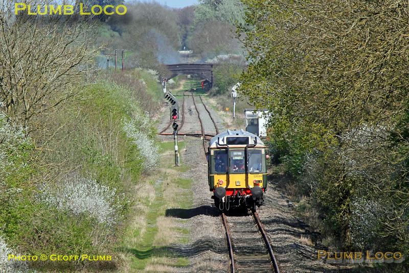 121 034, Bubble & Squeak Tracker, Claydon L&NE Junction, 1Z65, 9th April 2017