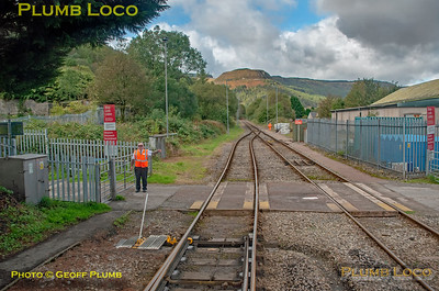 "BLS ""Cardiff Valleys Pacer Farewell"", PoV 143 605, Treherbert North Ground Frame, 6th October 2019"