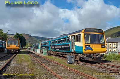 "BLS ""Cardiff Valleys Pacer Farewell"", 142 082. Treherbert DMU Siding No.1, 6th October 2019"