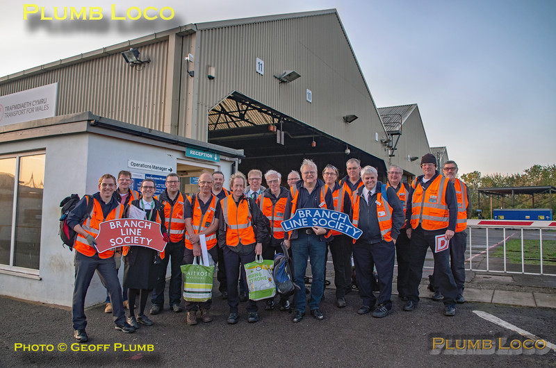 "BLS ""Cardiff Valleys Pacer Farewell"", Stewards Group, Canton Depot, 6th October 2019"