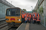 "BLS ""Cardiff Valleys Pacer Farewell"", Tour Group, Bargoed, 6th October 2019"