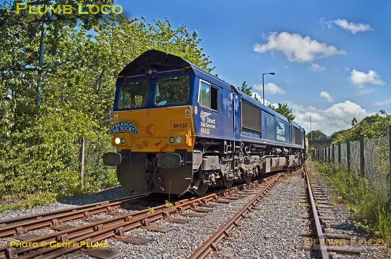 66432, BLS Cat & Dock, Ribble Branch Exchange Sidings, 15th June 2017