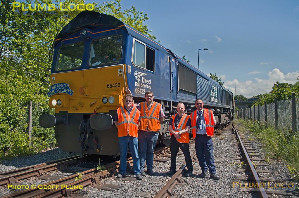 66432, BLS Cat & Dock, Train Crew, Ribble Branch, 15th June 2017