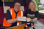 BLS Cat & Dock, Railway Children Cheque, 15th June 2017