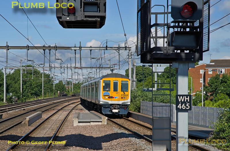 319 425, BLS 319Farewell, Luton, 5Z79, 4th June 2017
