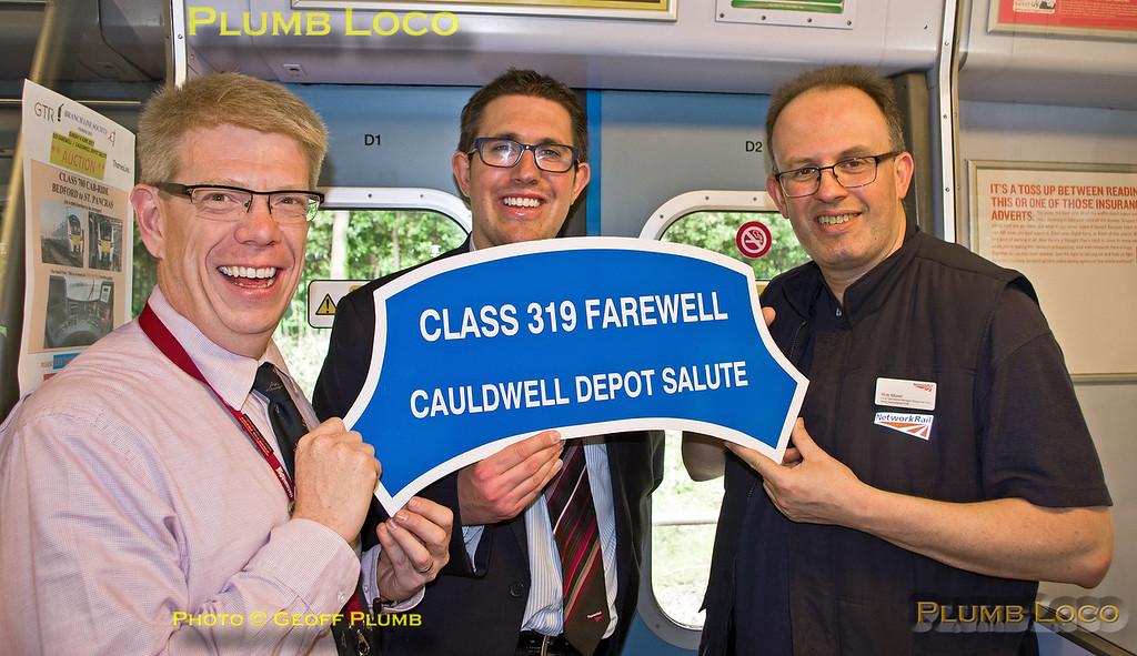 BLS 319 Farewell, Headboard Group, St Albans, 4th June 2017