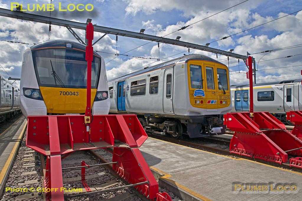 319 425, BLS 319 Farewell, Cricklewood Depot North Siding 4, 4th June 2017