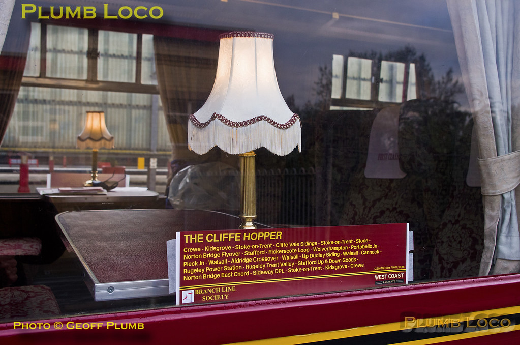 "BLS, ""Cliffe Hopper"", Window Decal, Crewe, 7th October 2016"