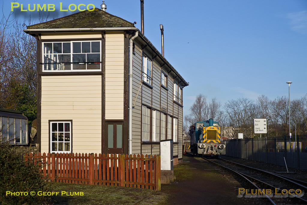 03073, BLS Trip, Crewe Heritage Centre, Exeter West Signal Box, 25th March 2018