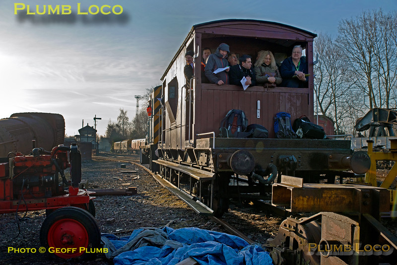 """03073, BLS Trip, Crewe Heritage Centre, Siding """"F"""", 25th March 2018"""