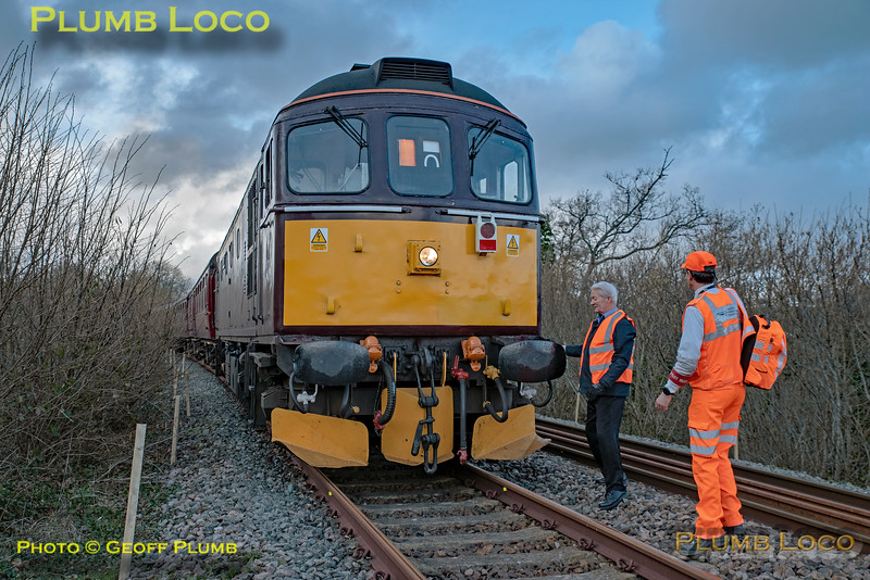 """BLS """"Devonian Crompton"""", 33207, Coleford Junction, 8th March 2020"""