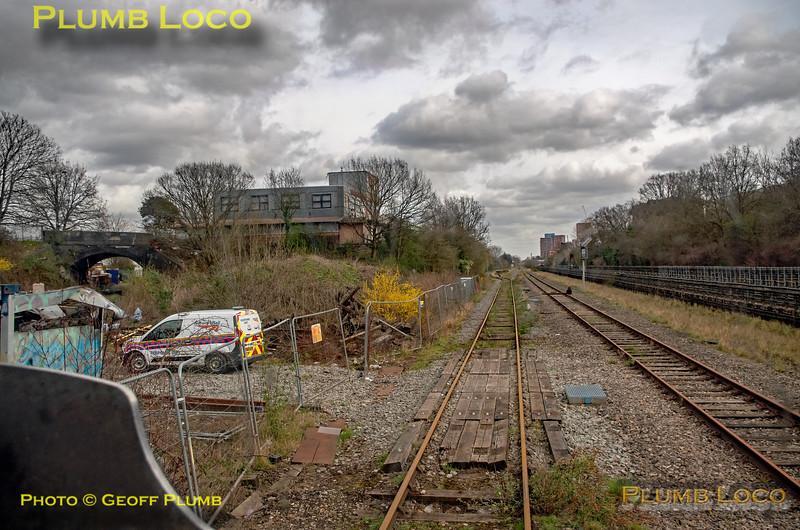 "BLS ""Park Royal Parkinson"", PoV 47746, Park Royal Branch Junction, 9th March 2020"