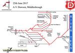 A.V. Dawson, Map of Rail Operations